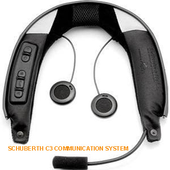 The Schuberth C3 Helmet SRC-S Communication System