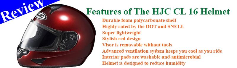 HJC CL 16 Helmet Review