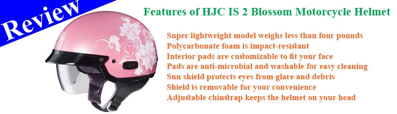HJC IS 2 Blossom Motorcycle Helmet