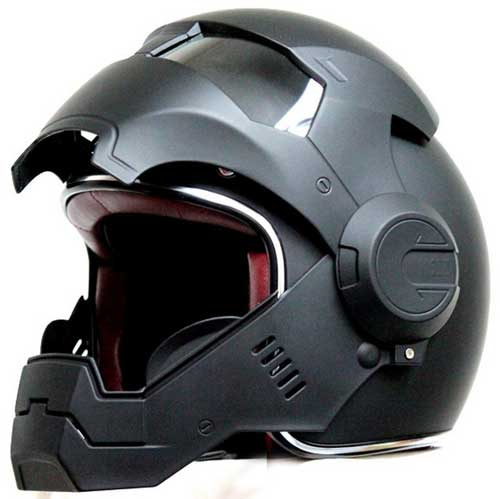 Masei ABS Shell open Face Motorcycle Helmet