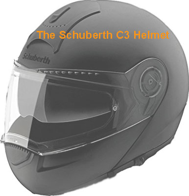 the Schuberth C3 Helmet review