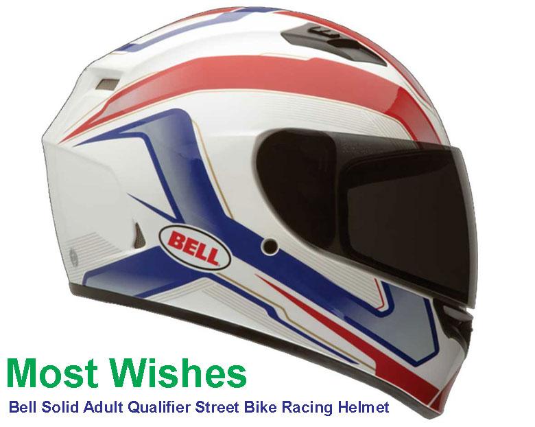 Bell Solid Adult Qualifier Street Bike Racing Helmet