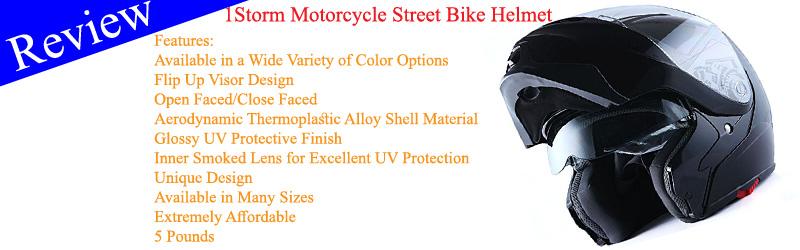 1Storm Motorcycle Street Bike Modular Helmet Review