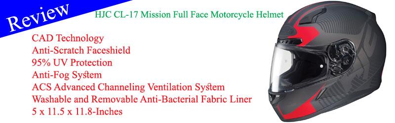 HJC CL-17 Mission Full Face Motorcycle Helmet