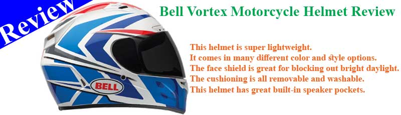 Bell Vortex Motorcycle Helmet Review
