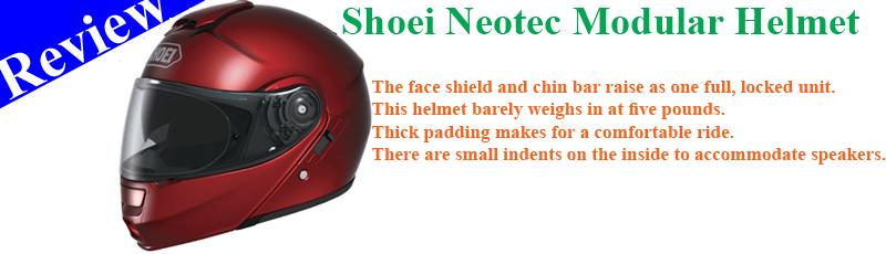 The Shoei Neotec Modular Helmet Review