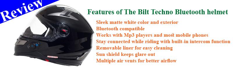 Bilt Techno Bluetooth helmet